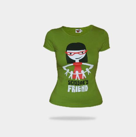 Camiseta SCISSOR'S FRIEND (chica)