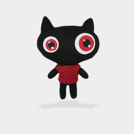 Peluche BLACK CAT