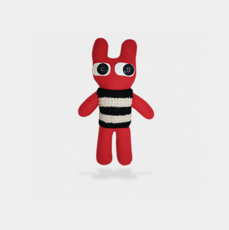 Toy RED BUNNY